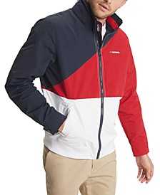 Men's Tate Colorblocked Yacht Jacket with Zip-Out Hood