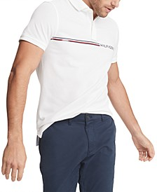 Men's Stripe Polo