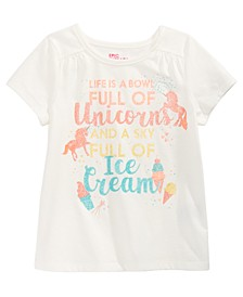 Toddler Girls Bowl Of Unicorns T-Shirt, Created for Macy's