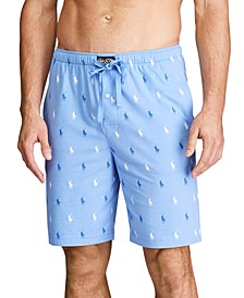 Men's Covered Waistband All Over Pony Sleepshorts