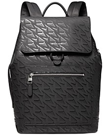 Men's Hudson Signature Flap Backpack