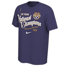 Men's LSU Tigers National Champ Celebration T-Shirt