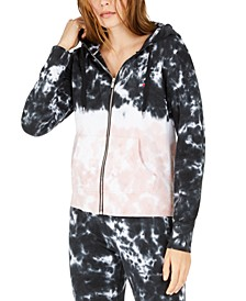Cotton Tie-Dyed Hoodie