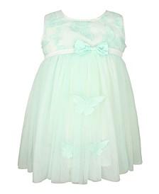 Baby Girl Butterfly Sleeveless Tulle Dress