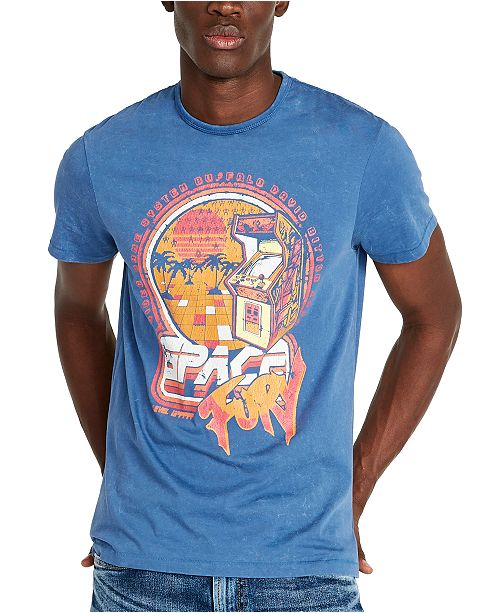 Buffalo David Bitton Men's Arcade Graphic T-Shirt