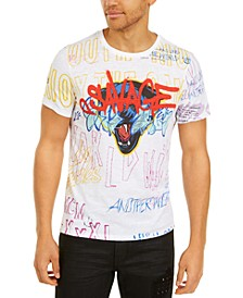 Men's Savage Graffiti T-Shirt