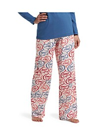Women's Printed Knit Pajama Pants