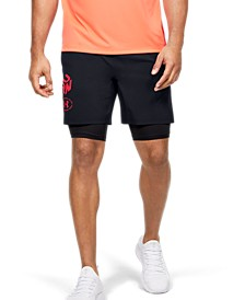 "Men's Launch 2-in-1 Get Out Run 7"" Shorts"
