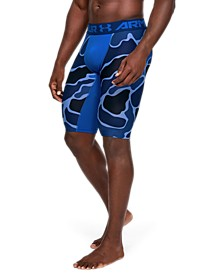 "Men's HeatGear® Armour Extra Long Printed 11"" Shorts"
