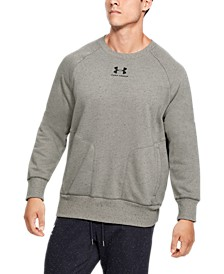 Men's Speckled Fleece Crew