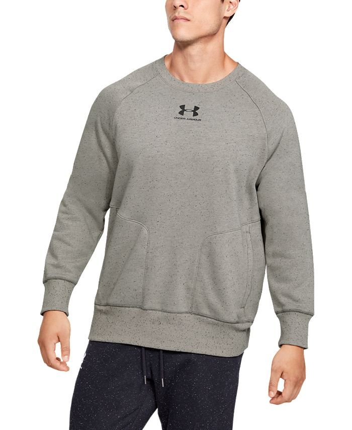 Under Armour - Men's UA Speckled Fleece Crew