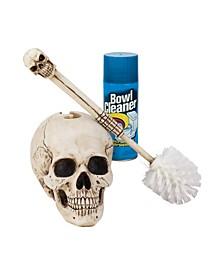 Bathroom Skullduggery Toilet Bowl Brush