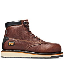 "Timberland Men's PRO 6"" Gridworks Wedge Boots"