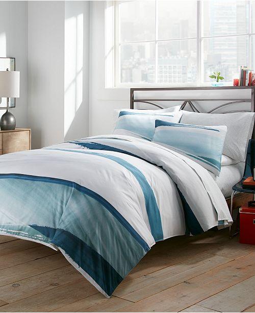 City Scene Aquarelle Full/Queen Comforter Set