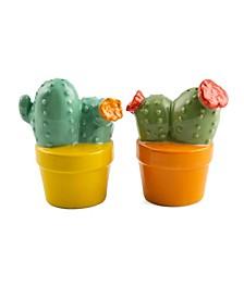 Potted Cactus Salt & Pepper Set
