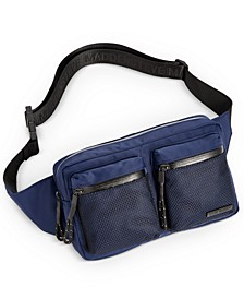 Men's Mesh Pocket Waist Bag