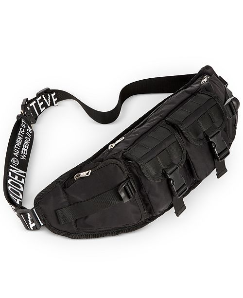 Steve Madden Men's Large Utility Waist Pack