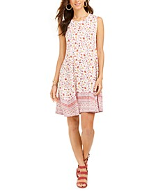 Floral-Print Shift Dress, Created for Macy's