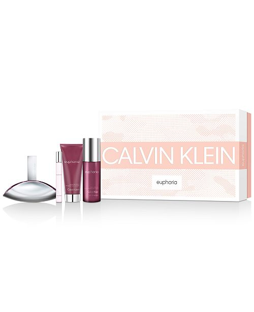 Calvin Klein 4-Pc. Euphoria For Women Eau de Parfum Gift Set