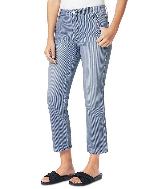 Joe's Jeans Cropped Mid-Rise Skinny Jeans
