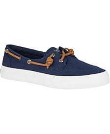 Crest Boat Barrel Tie Lace Sneakers