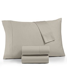 Linden 900-Thread Count Percale 4-Pc. Queen Sheet Set