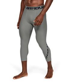 Men's HeatGear® Armour Graphic ¾ Leggings