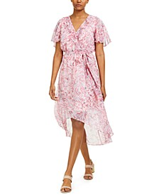 Printed High-Low Dress, Created for Macy's