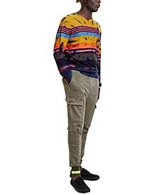 Men's Long-Sleeve Tie Dye Shirt
