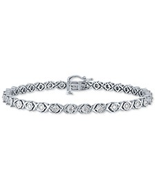 Diamond Tennis Bracelet (1 ct. t.w.) in 10k White Gold