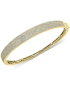 EFFY® Diamond Pavé Bangle Bracelet (1-7/8 ct. t.w.) in 14k Gold