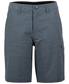 Men's Streaked Hybrid Board Shorts