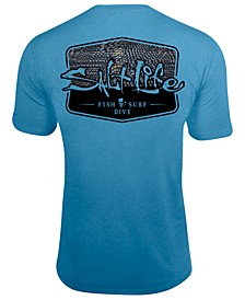 Men's Metal Scales UPF Performance Graphic T-Shirt