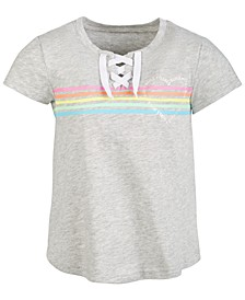 Little Girls Lace-Up T-Shirt, Created For Macy's