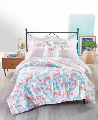 Flamingo Lagoon 3-Pc. Twin/Twin XL Comforter Set, Created for Macy's