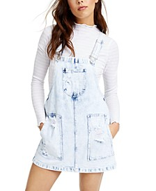 Denim Juniors' Overall Dress