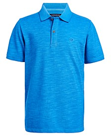 Cavin Klein Jeans Big Boys Pigment-Dyed Polo Shirt