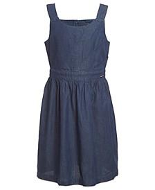 Big Girls Cotton Chambray Dress