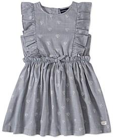 Toddler Girls Ruffled Heart Dress