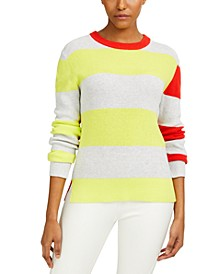 Nuka Cotton Colorblocked Sweater