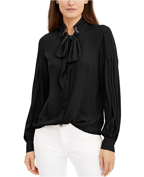 INC International Concepts INC Bow Shirt, Created for Macy's