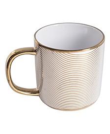 Gold Plaid Mug
