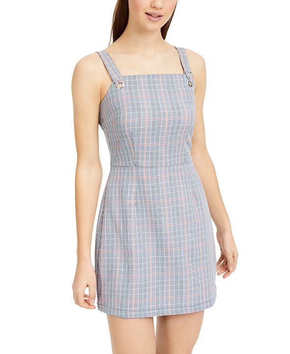 Be Bop Juniors' Plaid Jumper Dress