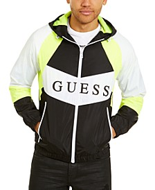 Men's David Logo Colorblocked Jacket