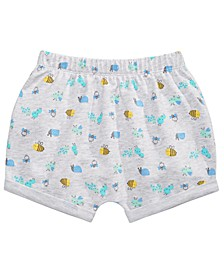 Baby Boys Bug-Print Shorts, Created for Macy's