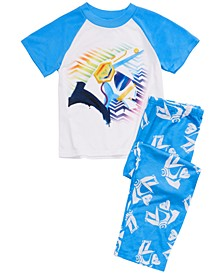 Little & Big Boys 2-Pc. Fortnite Pajama Set