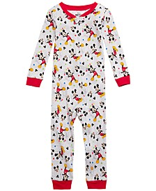 Toddler Boys 1-Pc. Mickey Mouse Pajamas