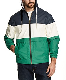 Men's Colorblock Rain Slicker