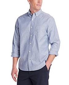 Men's Big & Tall Stretch Oxford Shirt