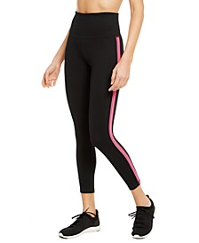Pop Stripe High-Waist Leggings, Created for Macy's